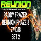PADDY FRAZER (SET 2) LIVE AT REUNION PHAZE 8 @ CJ'S ROSYTH 27/10/18