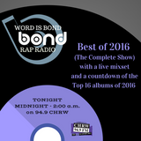 WIB Rap Radio - Best of 2016 (Countdown and Mixshow)