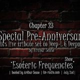Arthur Sense - Esoteric Frequencies #023: Special Pre-Anniversary [July 2013] on tm-radio.com