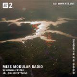 Miss Modular Radio w/ Gemma Castro - 13th September 2018