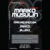 Marko Musulin - Live @ Diggarama pres. Techno 1.0 (Aquarius, Zagreb - 26.08.2011)