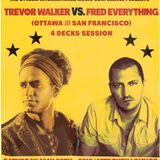 Trevor Walker VS Fred Everything 4 Decks Live at OIMC