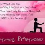 Happy Valenties WEek DAy :-Propose day