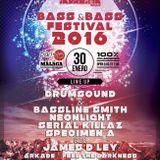 BokStep - Bass And Bass Festival Mix 30-01-2016 Sala Paris 15