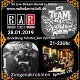 Zungenakrobaten Episode 134 mit B.A.R. & Team Freshlike vom 28.01.2019