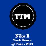 NikoB - Tech House - Fuse - 2013
