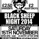 Black Sheep Night 2014