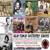 179- Old Time Country Shots (22 Junio 2019)