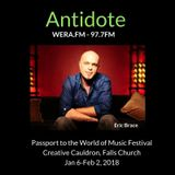 Ep 59: Passport to the World Festival, JoGo Project, Rochelle Rice, David Schulman, Eric Brace......