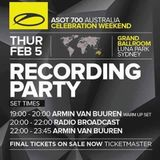 Armin van Buuren – A State Of Trance ASOT 700 (Part 2 Warm-Up @ Luna Park, Sydney) – 05-02-2015