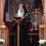 Ομιλία Καθηγουμένου Ι.Μ. Αγίας Τριάδος Μετεώρων Δομετίου.