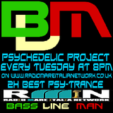 Psychedelic Project Mixed By Bass Line Man On Radio Mare Italia Network Episodio 003 01-08-2013