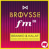 Brousse FM #08: Branko & Kalaf (Buraka Som Sistema/Enchufada)