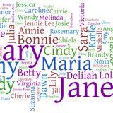 Girls Names in Songs (part 1)