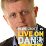 Maxiumus Mcneill the Scottish hitch hiker shares his journey with breakfast host DJ Danny Sun