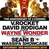 'THE ANNIVERSARY OF 2 LEGENDS' PROMO - MIX BY SELECTA BELLY - V. ROCKET SOUND