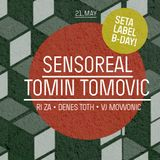 Tomin Tomovic - Live@Moody pres. Seta Label 8th B-Day (Tabacka Kulturfabrik) 21.05.2016