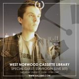 2017.03: STAVROGIN (LIVE SET) / West Norwood Cassette Library (Balamii Radio)