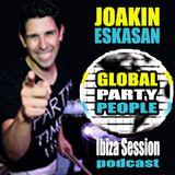 Global Party People - Ibiza Session by Joakin Eskasan (Dj with Drums) - visit www.JoakinEskasan.com
