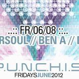 Greg Eversoul Live at P.U.N.C.H.I.S. 6/2012