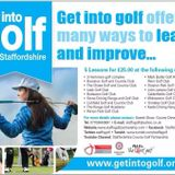 Sports Sandwich 14/10/2014 Get into golf, Val Stuart and Stafford Rangers Shed End Campaign.