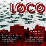 LOCO @ Bassment, Hong Kong - Ocean Lam - 16 June 2012 - 1130PM