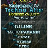 DJ Link - Live @ São João 2012, Techno After, Swing Club, Porto, Portugal (24.06.2012)