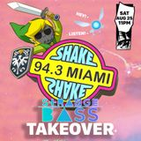 LAMEBOT live on Shake 94.3 fm 08.25.18 - Strange Bass Takeover