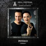PETDuo 4 Decks Set @ Hell Festival , Germany - Ago 18