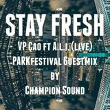 Adventure #79 VP-çao vs A.l.i. Live & PARKfestival guestmix by Champion Sound