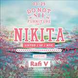 Rafi V Vinyl Warm Up for Nikita @Do Not Sit On The Furniture
