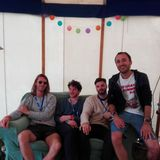 Tourists on Green Futures Festival Radio at Glastonbury 2017