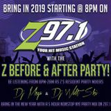 Dj Mega - New year mix 2019 mix  1 - z97 - 11pm