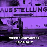 Weekendstarter 15-09-2017