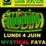 Emission RIDDIM 4 juin 2012 with MYSTICAL FAYA