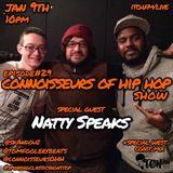 SKANDOUZ & Tom Foolery Beats - Connoisseurs Of Hip Hop 29 - Natty Speaks - ITCH FM (09-JAN-2015)