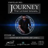 Journey - 65 guest mix by Manesh ( Sri Lanka ) on Cosmos Radio - Germany [30.05.18]