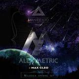 [Live] Melodica set open for Alex Metric @ Manifesto 18 07 2015