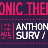 DJ Surv live @ A.D.G. presents Electronic Therapy 13 Bk, NYC - March 2014
