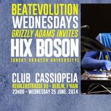 HIX BOSON live @ Cassiopeia/Beatevolution on 25.06.2014