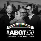 Above & Beyond - Live @ Group Therapy Radio 150 (Sydney, Australia) Deep Warmup Set - 26.09.2015