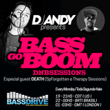 DJ Andy Bass Go Boom feat DEATH on Bassdrive20-03-2017