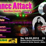 Dj Chrizz Pii @ Dance Attack Vol. 2, Malibu Dance BHV 04.02.2012