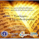 Yom kippur:  ¡Hoy es día de perdón!