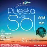 Deep 2 Electro House - Rinchon - Puesta Del Sol @ Gracia 04/08/13