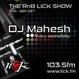 The RnB Lick Show with DJ Mahesh - 11th October 2017