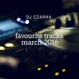 favourite tracks (march 2016)