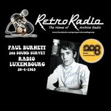 PAUL BURNETT - RADIO LUXEMBOURG - 20-4-1969 - 208 SOUND SURVEY