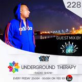 Underground Therapy - with Jayy Vibes Guest Mix 228 with X DEEP ( 23/02/2018 )