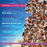 Sammy Porter x Max Denham x Kenzie - Unique Parties Marbella 2014
